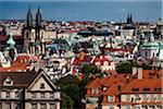 Overview of City, Prague, Czech Republic Stock Photo - Premium Rights-Managed, Artist: R. Ian Lloyd, Code: 700-05642360