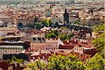 Overview of Prague, Czech Republic Stock Photo - Premium Rights-Managed, Artist: R. Ian Lloyd, Code: 700-05642372