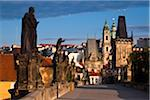 Charles Bridge Looking Toward Mala Strana, Prague, Czech Republic Stock Photo - Premium Rights-Managed, Artist: R. Ian Lloyd, Code: 700-05642414