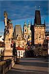 Looking Across Charles Bridge Towards Mala Strana, Prague, Czech Republic Stock Photo - Premium Rights-Managed, Artist: R. Ian Lloyd, Code: 700-05642415