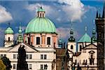 View of Klementinum from Charles Bridge, Prague, Czech Republic Stock Photo - Premium Rights-Managed, Artist: R. Ian Lloyd, Code: 700-05642417