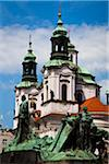 St. Nicholas Church, Old Town Square, Prague, Czech Republic