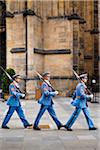 Royal Guards at Prague Castle, Prague, Czech Republic Stock Photo - Premium Rights-Managed, Artist: R. Ian Lloyd, Code: 700-05642428