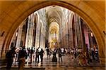 Throngs of People Inside St. Vitus Cathedral, Prague Castle, Prague, Czech Republic Stock Photo - Premium Rights-Managed, Artist: R. Ian Lloyd, Code: 700-05642432