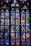 Stained Glass Window, St. Vitus Cathedral, Prague Castle, Prague, Czech Republic Stock Photo - Premium Rights-Managed, Artist: R. Ian Lloyd, Code: 700-05642436