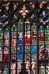 Stained Glass Window, St. Vitus Cathedral, Prague Castle, Prague, Czech Republic Stock Photo - Premium Rights-Managed, Artist: R. Ian Lloyd, Code: 700-05642437
