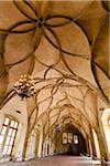 Interior of Vladislav Hall, Prague Castle, Prague, Czech Republic Stock Photo - Premium Rights-Managed, Artist: R. Ian Lloyd, Code: 700-05642439