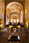 Interior of St. George's Basilica, Prague Castle, Prague, Czech Republic Stock Photo - Premium Rights-Managed, Artist: R. Ian Lloyd, Code: 700-05642444