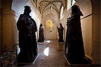 religious cross nobody - St. George's Convent, St. George's Basilica, Prague Castle, Prague, Czech Republic Stock Photo - Premium Rights-Managednull, Code: 700-05642450