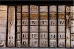 Close-Up of Old Books, Philosophic Hall, Strahov Monastery, Prague Castle District, Prague, Czech Republic Stock Photo - Premium Rights-Managed, Artist: R. Ian Lloyd, Code: 700-05642459
