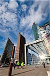 Edge of Berlin Wall and Sony Centre, Potsdamer Platz, Berlin, Germany Stock Photo - Premium Rights-Managed, Artist: R. Ian Lloyd, Code: 700-05642469