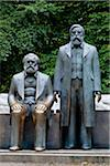 Satue of Marx and Engels, Alexanderplatz, Berlin, Germany Stock Photo - Premium Rights-Managed, Artist: R. Ian Lloyd, Code: 700-05642489