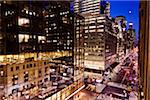 Madison Avenue at Night, New York, New York, USA Stock Photo - Premium Rights-Managed, Artist: R. Ian Lloyd, Code: 700-05642525