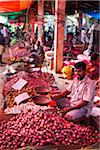 Vegetable Stands in Market, Payagala South, Sri Lanka Stock Photo - Premium Rights-Managed, Artist: R. Ian Lloyd, Code: 700-05642567
