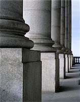 1990s GRANITE STONE COLONNADE BASE OF COLUMN ARCHITECTURE DETAIL Stock Photo - Premium Rights-Managednull, Code: 846-05646654