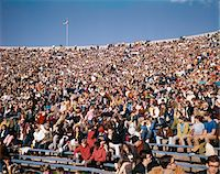 1970s STADIUM CROWD YOUNG TEEN FACES AT UNIVERSITY OF MICHIGAN STADIUM ANN ARBOR EVENT Stock Photo - Premium Rights-Managednull, Code: 846-05646773
