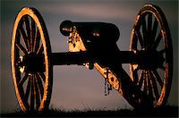 1860s SILENT AMERICAN CIVIL WAR ARTILLERY CANNON BULL RUN BATTLEFIELD VIRGINIA USA Stock Photo - Premium Rights-Managednull, Code: 846-05646999