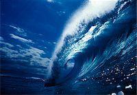LARGE HAWAIIAN WAVE BREAKING Stock Photo - Premium Rights-Managednull, Code: 846-05647241