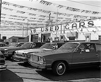 1970s CARS FOR SALE IN OUTDOOR OK USED CAR LOT Stock Photo - Premium Rights-Managednull, Code: 846-05647638