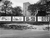1940s - 1945 WARTIME BILLBOARDS FOR CIGARS BEER COCA COLA ALL PROMOTING WAR BONDS BURNSIDE AVENUE IN THE BRONX NEW YORK Stock Photo - Premium Rights-Managednull, Code: 846-05647993