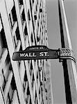 1950s - 1960s WALL STREET SIGN Stock Photo - Premium Rights-Managed, Artist: ClassicStock, Code: 846-05648103
