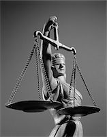 1970s STATUE OF BLIND JUSTICE HOLDING SCALES Stock Photo - Premium Rights-Managednull, Code: 846-05648280
