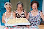 Older women with basket of pasta Stock Photo - Premium Royalty-Free, Artist: Beyond Fotomedia, Code: 649-05649284