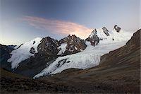 Condoriri Massif and glacier in the Cordillera Real, Andes Mountain, Bolivia, South America Stock Photo - Premium Royalty-Freenull, Code: 682-05650514