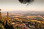 View from Volterra, Historic Walled Hill Town, Tuscany, Italy Stock Photo - Premium Royalty-Freenull, Code: 614-05650783
