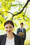 Business people standing together outdoors Stock Photo - Premium Royalty-Free, Artist: Gianni Siragusa, Code: 635-05651435