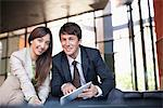 Business people working together Stock Photo - Premium Royalty-Freenull, Code: 635-05651610