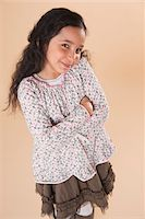 Portrait of Girl Stock Photo - Premium Royalty-Freenull, Code: 600-05653053