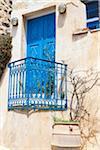 House Exterior, Pirgos, Santorini Island, Greece