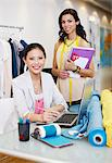 Portrait of fashion designers in office Stock Photo - Premium Royalty-Freenull, Code: 635-05655937