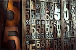 Letterpress Numbers Stock Photo - Premium Rights-Managed, Artist: Daryl Benson, Code: 700-05656522