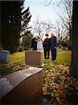 Family Grieving in Cemetery Stock Photo - Premium Rights-Managed, Artist: Matthew Plexman, Code: 700-05656532