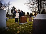 Family Grieving in Cemetery Stock Photo - Premium Rights-Managed, Artist: Matthew Plexman, Code: 700-05656533