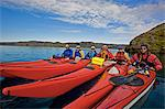 People in kayaks on lake Stock Photo - Premium Royalty-Free, Artist: Ascent Xmedia, Code: 649-05656693