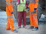 Construction workers talking on site Stock Photo - Premium Royalty-Free, Artist: Oriental Touch           , Code: 649-05658012
