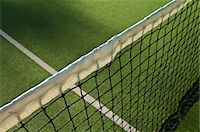 Close up of tennis net Stock Photo - Premium Royalty-Freenull, Code: 614-05662159