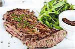 juicy steak veal - beef meat Stock Photo - Royalty-Free, Artist: ilolab                        , Code: 400-05664697