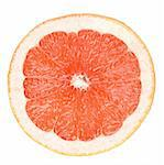 grapefruit in hand Stock Photo - Royalty-Free, Artist: spaxiax                       , Code: 400-05665475