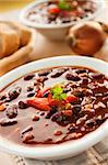 Chilli con carne with red pepper and parsley Stock Photo - Royalty-Free, Artist: mythja                        , Code: 400-05666504