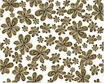 seamless vector flower pattern Stock Photo - Royalty-Free, Artist: Mary1507                      , Code: 400-05668006