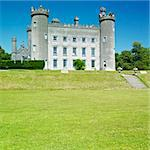 Tullynally Castle, County Westmeath, Ireland Stock Photo - Royalty-Free, Artist: phbcz                         , Code: 400-05668104