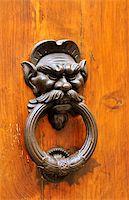 Door-knocker in Tuscany, Italy. Stock Photo - Royalty-Freenull, Code: 400-05669208