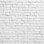 White brick wall, perfect as a background, square photograph Stock Photo - Royalty-Free, Artist: Dutourdumonde                 , Code: 400-05669400