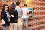 Impatient woman queuing at an ATM Stock Photo - Royalty-Free, Artist: 4774344sean, Code: 400-05670023