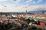 Scenic view of Florence, Tuscany, Italy Stock Photo - Royalty-Free, Artist: Dutourdumonde                 , Code: 400-05670073