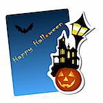 halloween background vector illustration Stock Photo - Royalty-Free, Artist: bernil                        , Code: 400-05670138